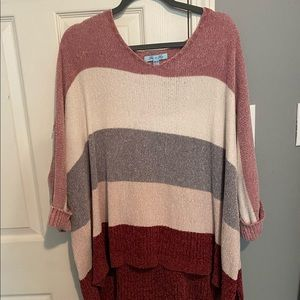 Striped Sweater ONE SIZE FITS ALL